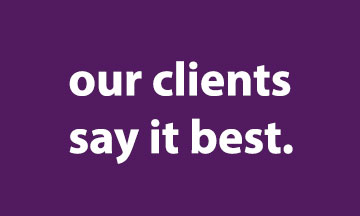 Clients Say It Best.