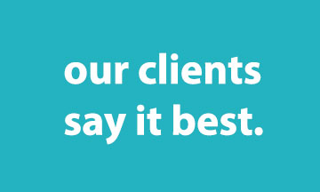 Clients say it best