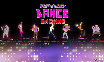 Catshrine's Pop n' Lock Dance Machine