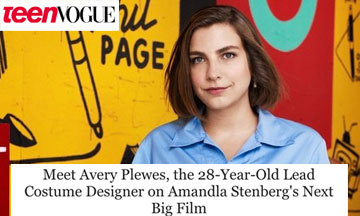 Avery Plewes is designing her dreams